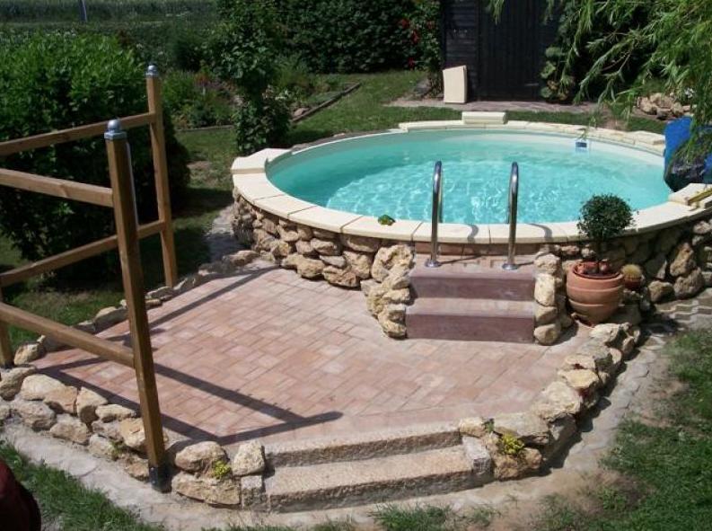 Beckenrandsteine f r rundpool 3 50 m 3 60 m aktionspreis for Garten pool hersteller