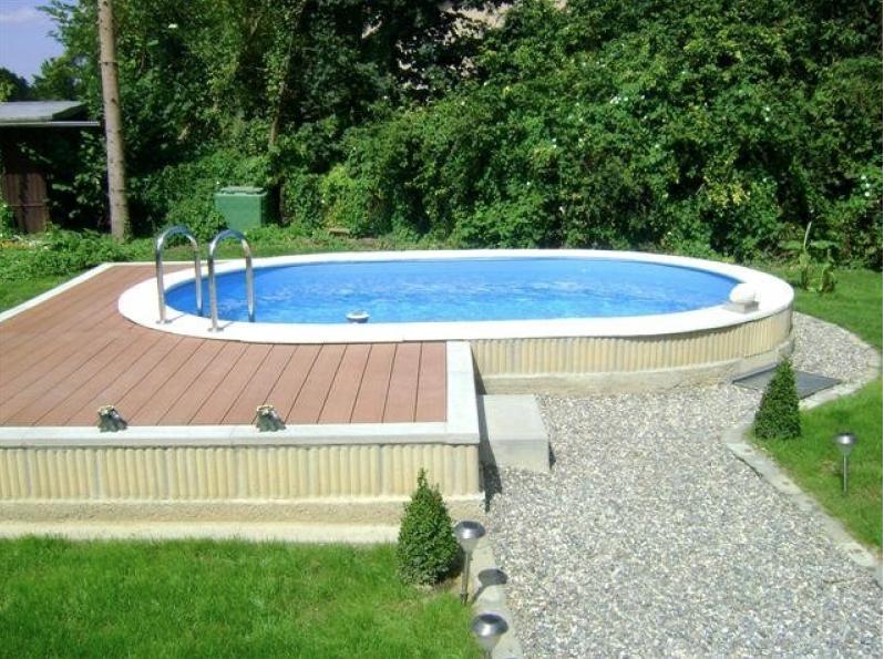 Beckenrandsteine f r ovalformbecken 7 37 m x 3 60 m 510 00 aktionspreis pool steine - Whirlpool selber bauen 50 euro ...